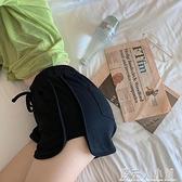 運動短褲新款女夏寬鬆高腰外穿顯瘦百搭休閒褲黑色居家寬管褲 夏季特惠