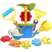 兒童沙灘玩具車套裝大號寶寶玩沙子