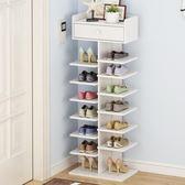 鞋架 鞋架簡易多層家用小型迷你省空間經濟型客廳鞋柜門口大容量鞋架子  萌萌