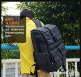 相機包攝影包後背5D單反相機包防水多功能15.6電腦包 晶彩