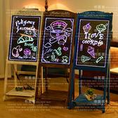 LED熒光板led電子熒光板廣告板發光小黑板廣告牌展示牌銀光閃光屏手寫字板【全免運八五折搶購】