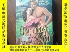 二手書博民逛書店英文原版書:Marriage罕見by DesignY10581