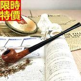 直式菸斗-手工迷你石楠木美觀大氣煙具67c6[時尚巴黎]