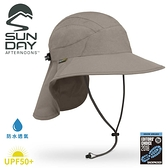 【Sunday Afternoons 美國 抗UV防水透氣護頸帽《灰褐》】SAS3A01558B/防曬帽/遮陽帽/登山/露營