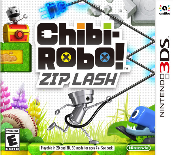 3DS Chibi-Robo!: Zip Lash 套索行動!團團圓圓!小小機器人!(美版代購)