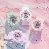 手錶 少女ins風馬卡龍運動獨角獸初高中學生防水電子錶男【八折搶購】