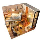 DIY小屋新品現代風格手工制作別墅模型玩具房子創意生日禮物女 提前降價免運直出八折