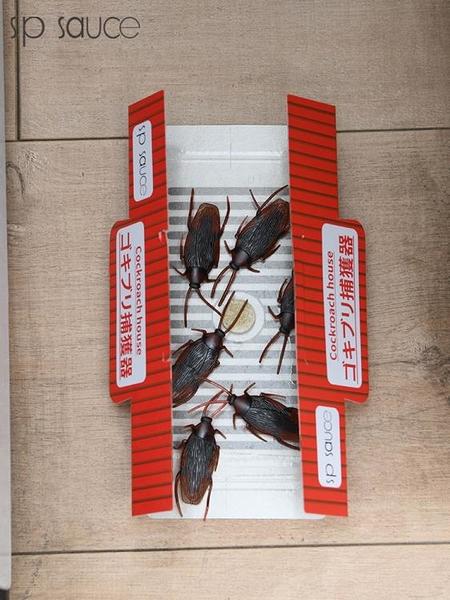 蟑螂屋貼家用滅蟑螂一窩端紙盒子克星捕捉神器廚房除殺蟑粘板