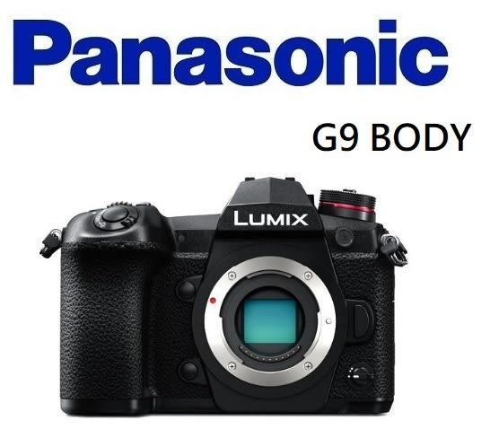名揚數位 Panasonic Lumix G9 BODY 公司貨 登錄送BLF19原電*1+RP-SDUD32GAK(SD卡)+鏡頭H-H025E*1(3/31)