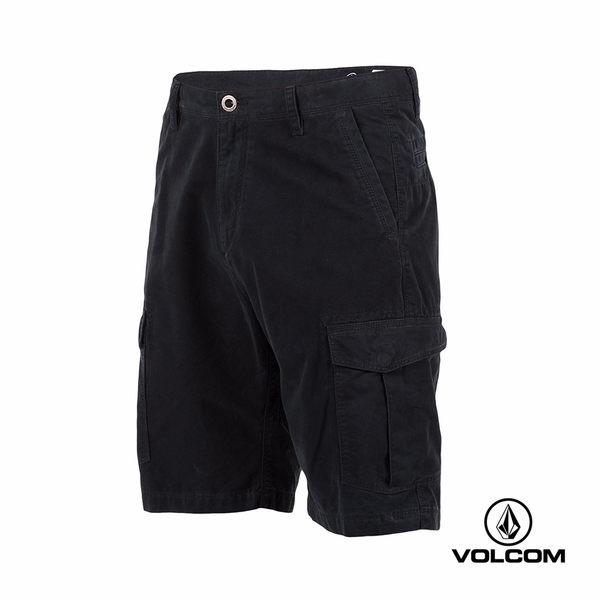 VOLCOM MITER CARGO SHORT 多功能休閒型短褲-黑