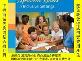 二手書博民逛書店Teaching罕見Students With Special Needs In Inclusive Settin