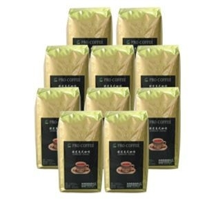 精選義式咖啡豆-百分之百阿拉比卡  新鮮烘焙‧獨家嚴選 1磅*10入