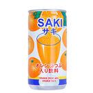 韓國 SAKI 橘子果粒果汁 / 柳橙汁 含柳橙果粒(180ml*60瓶)【好食家】