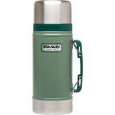 【速捷戶外露營】美國STANELY #10-01229 經典真空保溫食物罐 0.7L (錘紋綠)