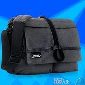 攝影背包單肩相機包國家地理單反攝影包帆布男女背包  數碼人生DF