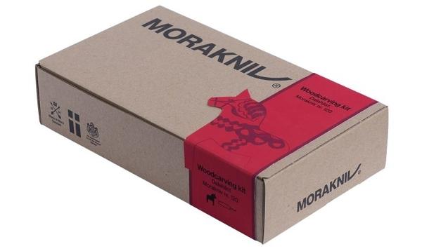 丹大戶外用品【MORAKNIV】瑞典 WOODCARVING KIT NO.120 瑞典達拉雕刻禮盒 12670