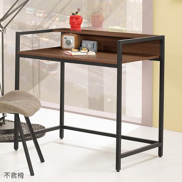 【森可家居】伯恩斯3尺書桌 8CM869-1 不含椅 簡易工作桌 工業風