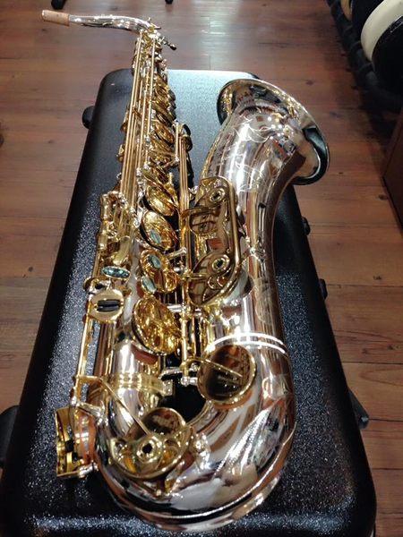 凱傑樂器 G1 CUSTOM TENOR 薩克斯風 管身鍍銀 按鍵金 次中音 (刻花)