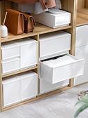 收納袋 衣服收納箱抽屜式收納盒衣柜神器整理箱塑料衣物儲物內衣收納柜子 快速出貨