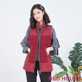 【RED HOUSE 蕾赫斯】羊毛羽絨背心(共2色)
