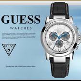 GUESS 時尚魅力休閒腕錶 42mm/GC/男女兼用/三眼計時/SV/防水/37002G1 現+排單/免運!