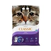 寵物家族-加拿大晶鑽 Intersand E Classic 薰衣草凝結細砂14kg(品質不輸Ever Clean) 紫標