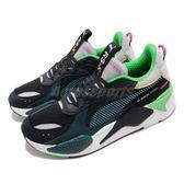 Puma 慢跑鞋 RS-X Toys 黑 藍 綠 全新系列 玩具公仔系列 老爹鞋 男鞋 女鞋 運動鞋【PUMP306】 36944901