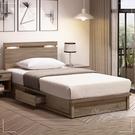 【水晶晶家具/傢俱首選】ZX1082-3+1081-8亞力士3.5尺低甲醛木心板夜燈床組~可分開購買
