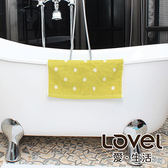 Lovel 專利咖啡紗除臭抗UV圓點方巾-綠