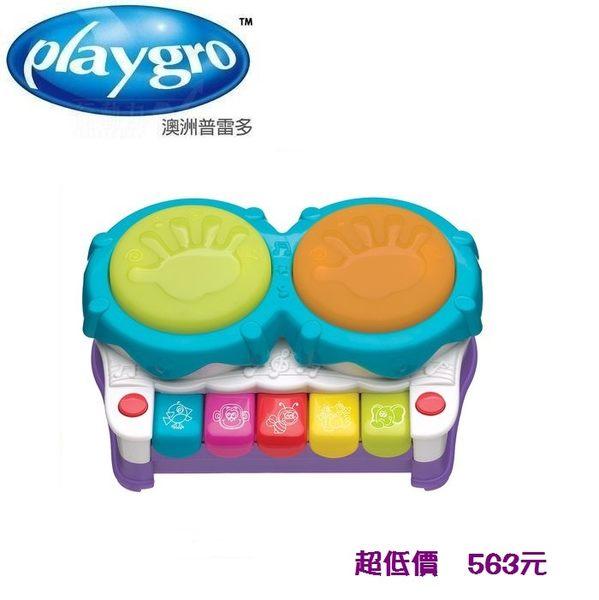 *美馨兒*澳洲Playgro -二合一聲光小鋼琴 563元
