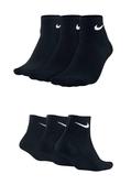 (特價) Nike 短襪 SX4703-001 / 4706-001 黑色一雙 厚款毛巾底 (OS小舖)