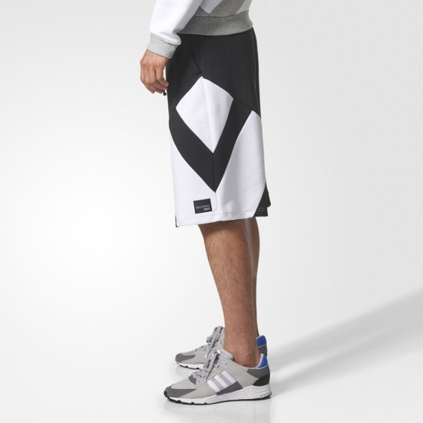 Adidas 愛迪達 三葉草 18新款 EQT 短褲 六分褲 運動褲 藍球褲BS2817/澤米(全館任二件免運費)