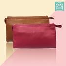 側背包 質感真皮萬用小包  素面簡約款手拿包 手機包 零錢包  89.Alley ☀9色 HL-8935