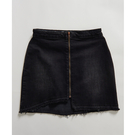 ONETEASPOON  WW  WORN RAVEN VIXEN HIGH WAIST A-LINE DENIM SKIRT  牛仔短裙-(女)