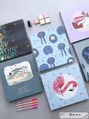相冊diy手工創意覆膜影集本粘貼式情侶禮物自制拍立得戀愛紀念冊