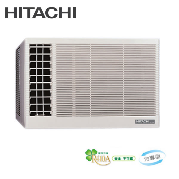 HITACHI日立冷氣 3-5坪 定頻冷專 左吹式 窗型冷氣 RA-22TK 含基本安裝