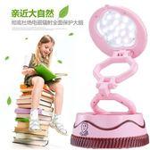 蛋糕小夜燈摺疊usb 充電閱讀檯燈觸摸led 迷你裝飾擺飾可愛隱藏