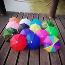 現貨 現量30組 迷你遮陽傘 外送必備 迷你小雨傘 遮陽傘 手機架 外送員 遮陽小雨傘