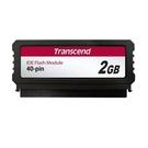 新風尚潮流 創見 記憶卡模組 【TS2GPTM520】 2GB IDE DOM 快閃記憶卡 40pin垂直型