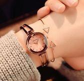 手錶女手鍊式手錶女學生韓版簡約潮流復古日繫風小巧女表 【新品特惠】