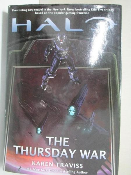 【書寶二手書T3/原文小說_C9S】The Thursday War_Traviss, Karen