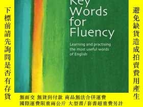 二手書博民逛書店Key罕見Words For Fluency Pre-intermediate-中級前流利關鍵詞Y436638