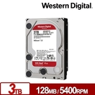 WD WD30EFZX 紅標Plus 3TB 3.5吋NAS硬碟