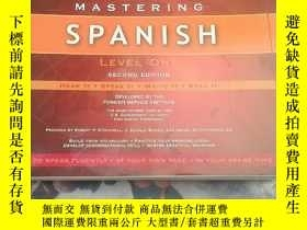 二手書博民逛書店MASTERING罕見SPANISH(掌握西班牙語)Y20404