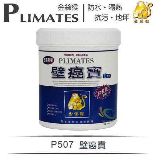 【漆寶】金絲猴│壁癌寶P-507(1公升裝)