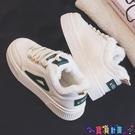 小白鞋 2021秋冬季新款小白鞋女百搭學生帆布白鞋板鞋潮棉鞋爆款 寶貝計畫 618狂歡
