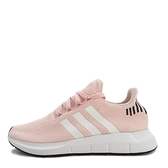Adidas Swift Run W [B37681] 女鞋 運動 休閒 慢跑 襪套 粉紅 白 愛迪達