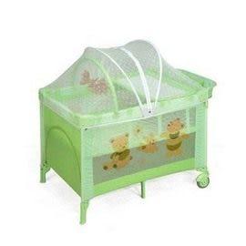 Baby ACE豪華型雙層遊戲床(綠)[衛立兒生活館]