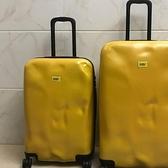 凹凸個性破損拉桿箱女網紅行李箱萬向輪男旅行箱子ins皮箱密碼箱YYJ 阿卡娜