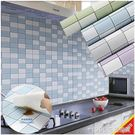 廚房防油貼紙耐高溫防水墻貼櫥櫃灶台面桌面浴室瓷磚自黏墻紙壁紙【精品百貨】